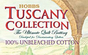 "Hobbs 1955A Tuscany Collection 100% Natural Unbleached Cotton Batting 45""x60"" Crib Size"