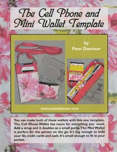 NOT16 Cell Phone Mini Wallet Template by Pam Damour The Decorating Diva