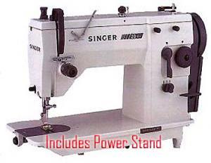 7397: Singer 20U109 20U73 9mmZZ +Straight Stitch Sewing Machine, No Longer Avaialble - ACCESSORIES ONLY