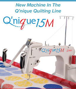 "85286: Grace Qnique 15M Manual Free Motion, 15x9"" Longarm Quilting Machine Head"