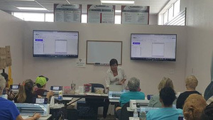 85628: ScanNCut Class Darlene Powell Saturday 9am-4pm January 6, 2018 Baton Rouge LA Retail Store