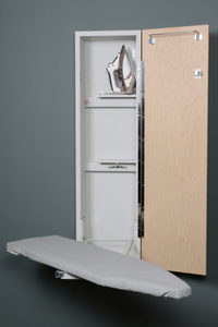 "85639: IRON-A-WAY ANE-42 Non Electric 42"" Wall Mount Ironing Board, Hinged Door"