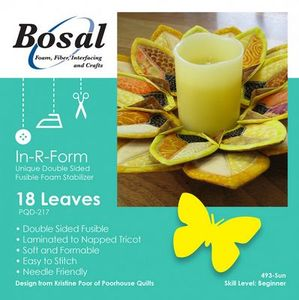 85750: Bosal Craf-Tex Plus BOS493SUN Sunflower Petals Wreath