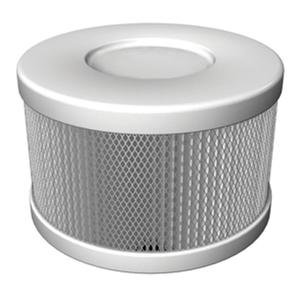 83495: Amaircare HEPA Snap On ROOMAID Pure White Single