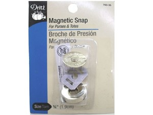 "85042: Dritz 3/4"" ANTIQUE GOLD MAGNETIC SNAP NOTIONS"