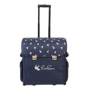 85824: EverSewn ES-MBRB Machine Rolling Tote - Navy