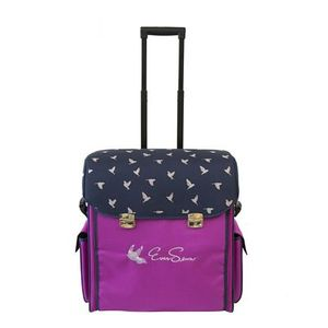 85825: EverSewn ES-MPRB Machine Rolling Tote - Pink
