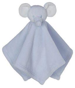 85906: Creature EB31192 Comfort Mini Elephant Blankey - Blue