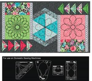 86015: Westalee WT-MDBBSET MEADOW DANCE BEAUTIFUL BORDERS TEMPLATE SET