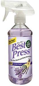86042: Mary Ellen 60074, 16oz Best Press Spray Starch Lavender Vanilla Scent