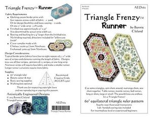 Artistically Engineered Designs AED162 Triangle Frenzy Runner