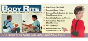 86063: Body Rite 7847 Back Support