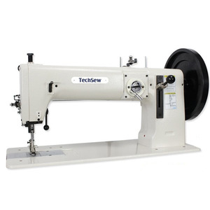 """TechSew 5200, 16.5"""" Flatbed Walking Foot Needle Feed Leather Stitcher, Power Stand"""