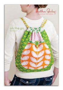 Heather Bailey HBEP010GO On the Go Backpack Sewing Pattern