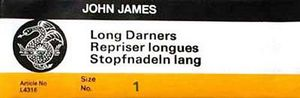 86509: John James 6634 Long Darners sz1