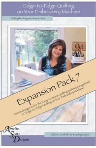 Amelie Scott Designs ASD219 Edge to Edge Expansion Pack 7 CD