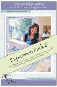 86586: Amelie Scott Designs ASD221 Edge to Edge Expansion Pack 8 CD