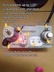 86797: AB-1 Electric Bobbin Thread Winder, Heavy Duty, Auto Shut Off Sensor