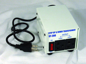 4823: ST200 Step Up, Step Down Voltage Converter Transformer ST-200 Watts