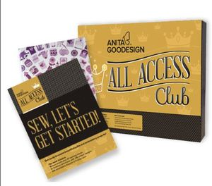 86979: New Anita Goodesign All Access Club Program 12 Month Subscription