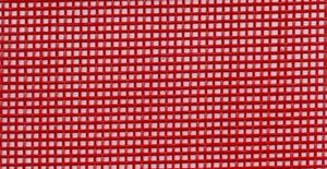 Lyle Enterprises VMR-128, 36in Wide Vinyl Coated Mesh Red, 5Yd Roll