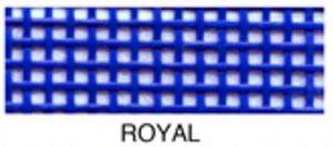 "55658: Lyle Enterprises VMC-09 Royal Blue Vinyl Mesh Roll 18"" X 36"""