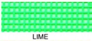 "55657: Lyle Enterprises VMC-10 Lime Green Vinyl Mesh Roll 18"" X 36"""