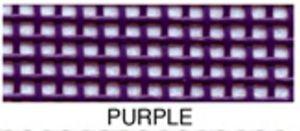 "55663: Lyle Enterprises VMC-314 Purple Vinyl Mesh Roll 18"" X 36"""