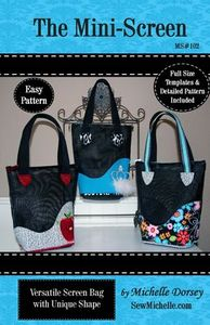 Sew Michelle MS102 The Mini Screen Tote pattern