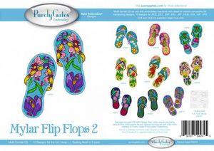 Purly Gate PG5721 Mylar Flip Flops 2