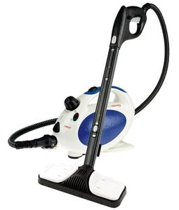Polti PTNA0001, Vaporetto Handy Blue Canister and Upright Steam Cleaner