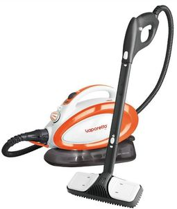 87204: Polti PTNA00__ Vaporetto Go Canister Steam Cleaner Orange, Red, Blue, Green