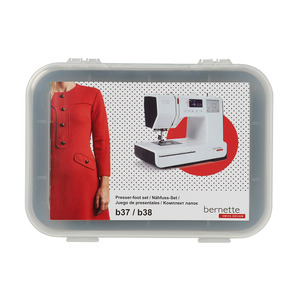 87321: BERNINA 502060.14.17 Sewing Feet Kit 10pc for Bernette B37, B38 Sewing Machines