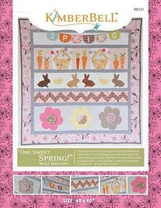 52709: KimberBell Designs KD131 One Sweet Spring Pattern