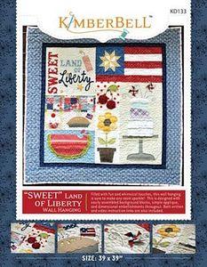 52710: KimberBell Designs KD133 Sweet Land of Liberty Pattern