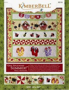 52713: KimberBell Designs KD154 One Splendid Summer Pattern