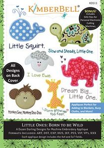 87485: Kimberbell KD513 Little Ones: Born to be Wild ME CD