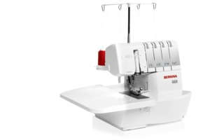 Bernina L460, Serger, 234 Threads, Roll Hems, Diff. Feed, Looper Threader, LED Light, Knee Lever, DC Motor, Ext. Table, Needle Up Down, Tension Release