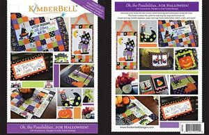 87577: KimberBell KD705 Oh, The Possibilities for Halloween! (Book)