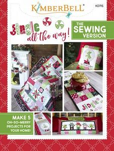 87580: KimberBell KD715 Jingle All the Way! Sewing Book