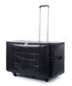 """87599: P60924 Case Deluxe Hard Sided Spinner Trolley Roller Bag 24x14x15.5"""" for Large Machines"""