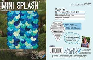 Jaybird Quilts - Mini Splash