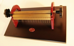 "87654: Princess 24 Row Super Maxi Smocking Pleater Machine, 9"" Wide, 47 Needles"