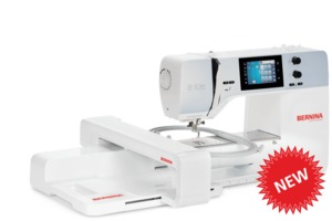 "Bernina B535E, Next Generation,  Embroidery Module, Bernina B535 Next Generation Sewing Machine, 8.5"" Arm, 5.5mm Stitch Width, 6mm Stitch Length, 4 Fonts, Optional Embroidery Module"