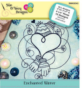 Sue O'Very Designs SWASD43 Enchanted Winter Design