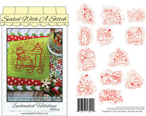 Sue O'Very Designs SWASD45 Enchanted Holiday Design