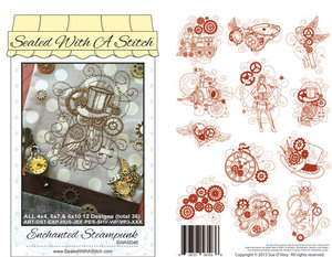 Sue O'Very Designs SWASD46 Enchanted Steampunk Design