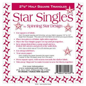 Spinning Star Design Star Singles 2.5