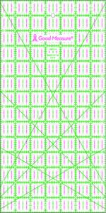 87793: Good Measure GM7X14 7in x 14in Ruler by Amanda Murphy