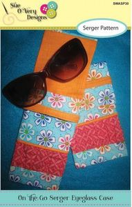 Sue O'Very Designs On the Go Serger Eyeglass Case Pattern